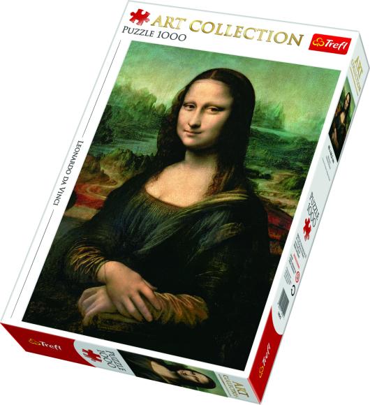 TREFL Puzzle 1000 Mona Lisa