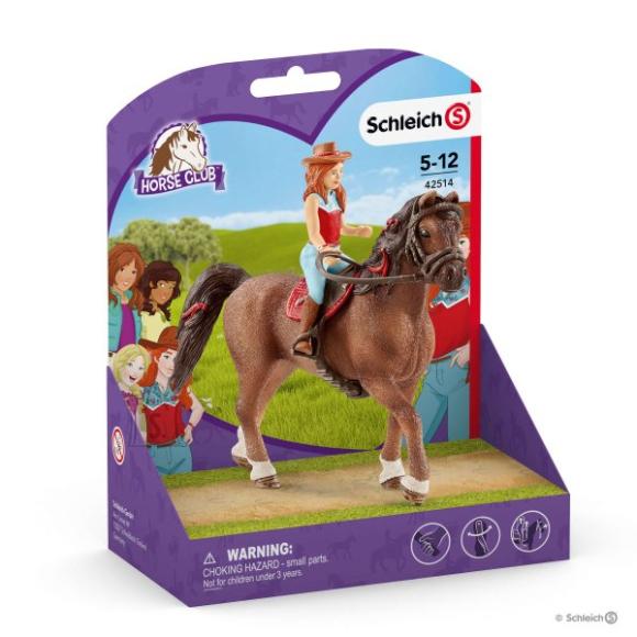 Schleich SCHLEICH HORSE CLUB Hannah ja Cayenne