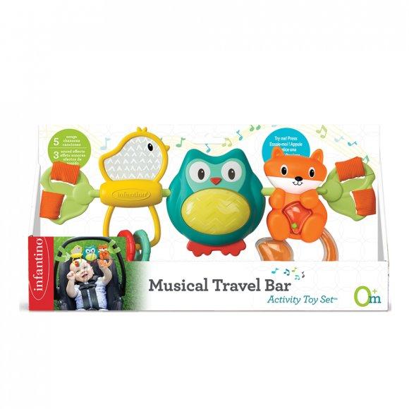 Infantino INFANTINO Muusikaalne riputatav mänguasi