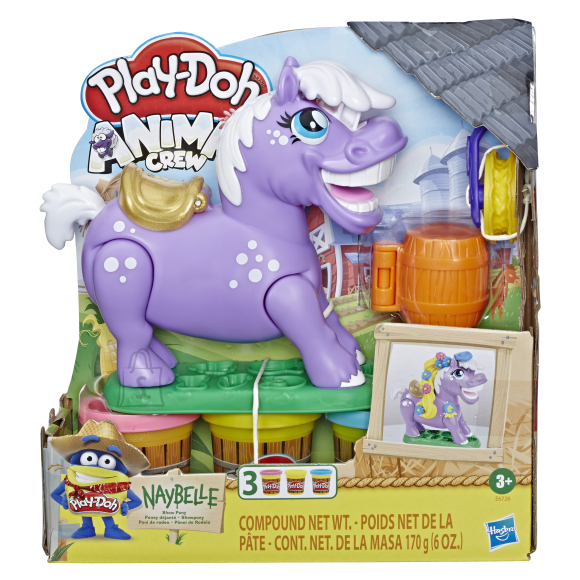 Play Doh HASBRO PLAY-DOH Poni Naybelle