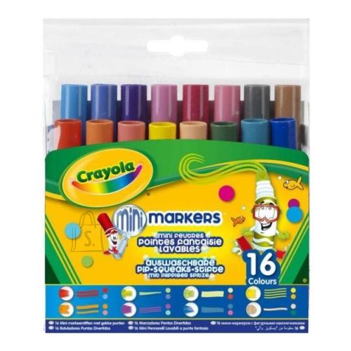 Crayola CRAYOLA 16 Pipsqueaks figuurotsaga markerit