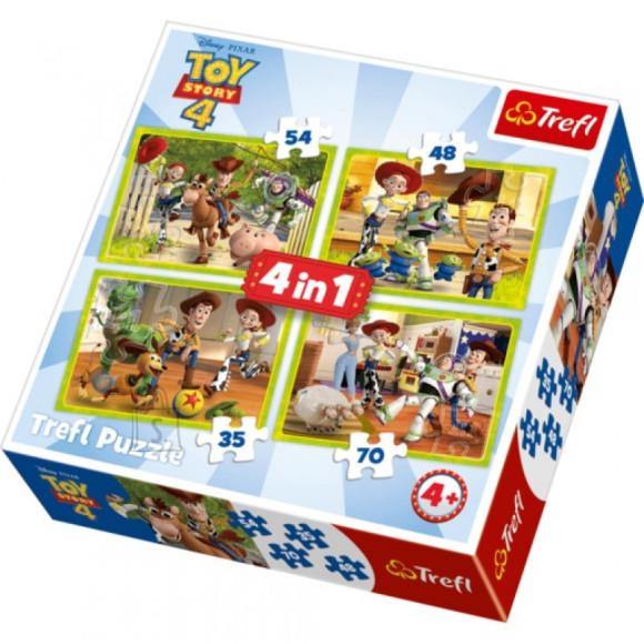 TREFL Pusle 35+48+54+70 Komplekt 4 Toy Story 4