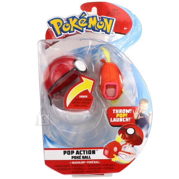 Pokemon JAZWARES POKEMON Pop Action Poké Ball