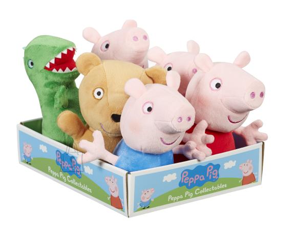 Peppa Pig CHARACTER PÕRSAS PEPPA Pehme mänguasi 15 cm, asst