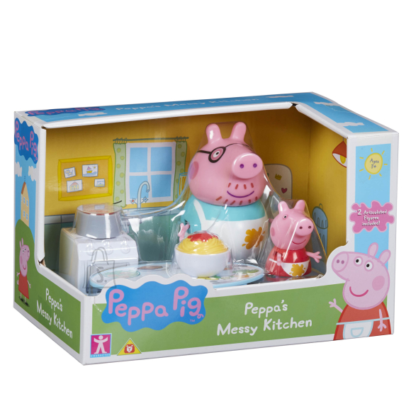 Peppa Pig CHARACTER PÕRSAS PEPPA Köögi mängukomplekt
