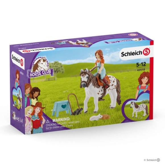 Schleich SCHLEICH HORSE CLUB Mia ja Spotty