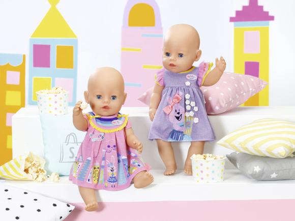 Baby Born ZAPF BABY BORN Kleit 43 cm nukule, asst 2