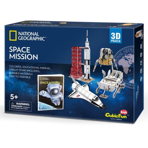 CubicFun CubicFun 3D pusle National Geographic Kosmoseuuringud