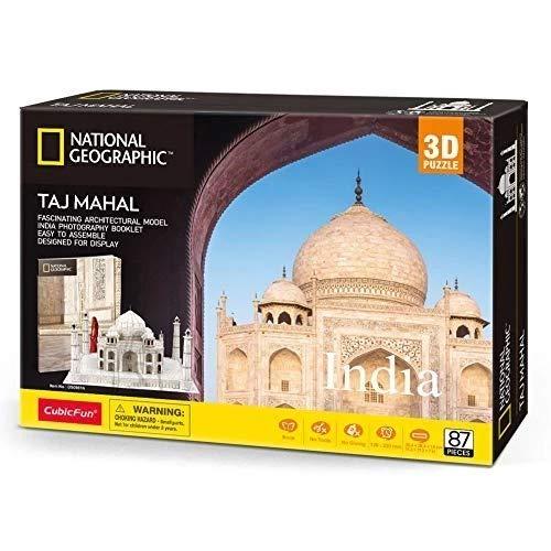 CubicFun CubicFun 3D pusle National Geographic Taj Mahal