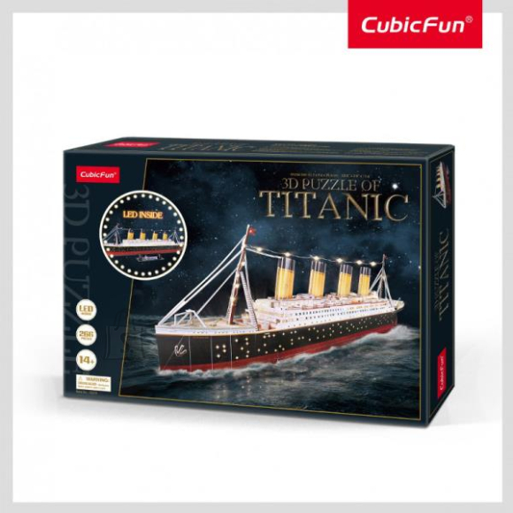 CubicFun CUBIC FUN Titanic LED-iga