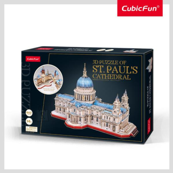 CubicFun CUBIC FUN Püha Pauli katedraal