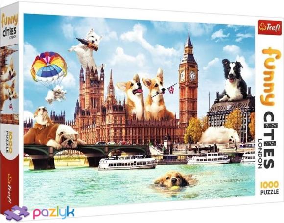 TREFL Pusle 1000 Koerad Londonis
