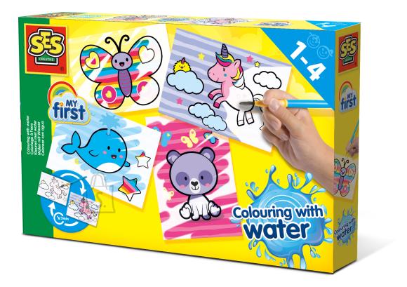 Ses SES Värvimine veega - Fantaasialoomad