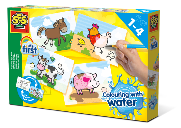 Ses SES Värvimine veega - Faкrmiloomad