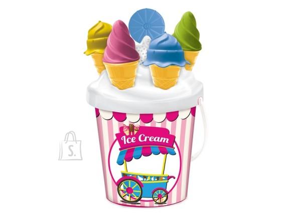 Mondo MONDO liivakasti mängukomplekt jäätisega