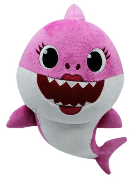 SMART PLAY BABY SHARK Pehme mänguasi Mommy Shark helidega 35 cm