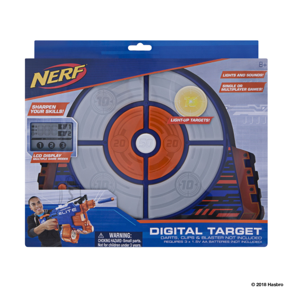 Nerf JAZWARES NERF Elite digitaalne märklaud