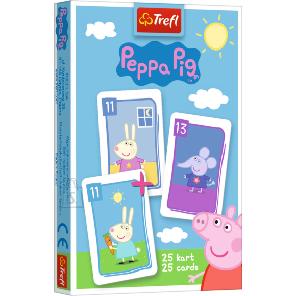 Peppa Pig TREFL PEPPA PIG Kaardim��ng P��rsas Peppa