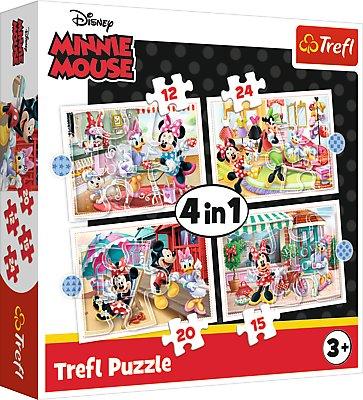 Disney TREFL Puslekomplekt 4in1 Minni-Hiir