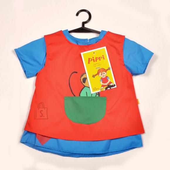 Pippi PIPPI kostüüm, Pipi Pikksukk 2-4a.
