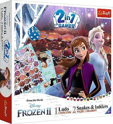 Frozen FROZEN Boardgame 2 in 1 Frozen II