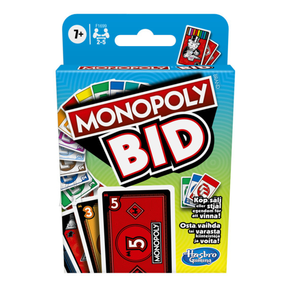 Monopoly MONOPOLY kaardim��ng BID