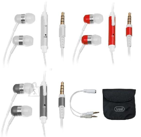 Trevi kõrvasisesed kõrvaklapid mikrofoniga