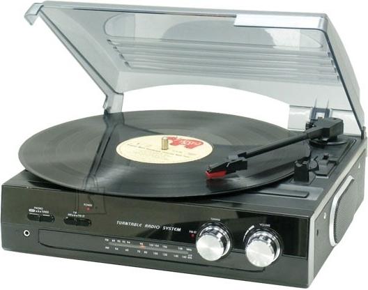 Roadstar TTR-8633 vinüülplaadimängija - raadio