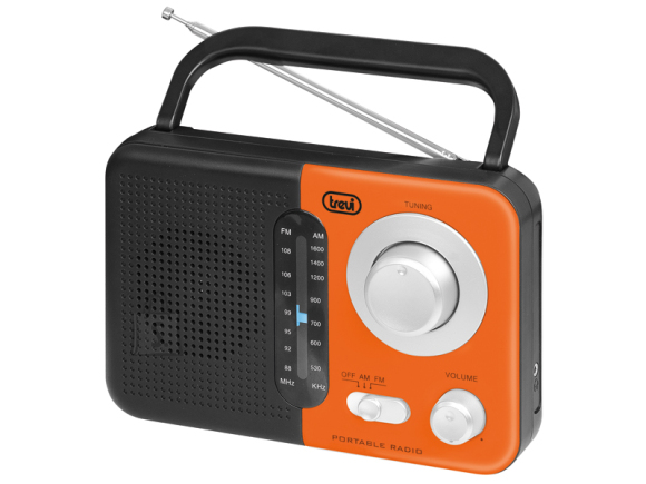 Trevi RA 768 kaasaskantav raadio AC/DC