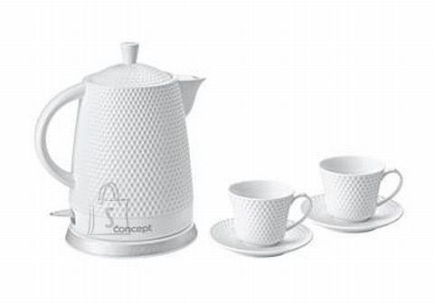 Concept RK-0040 veekeetja 2 teetassi ja alustassiga