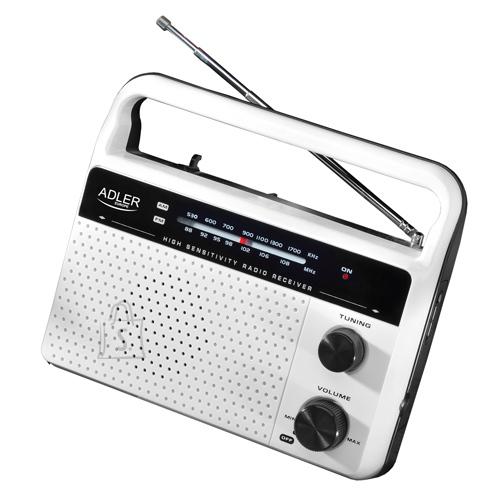 Adler AD 1132 kaasaskantav raadio