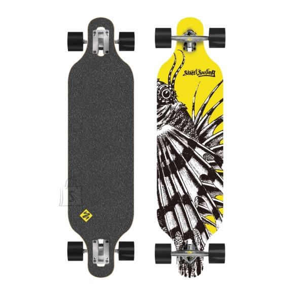 """Street Surfing pikamaasõidu rula 100 cm Freeride - Dragon 39"""" ABEC 9 laagritega"""