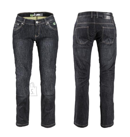 W-Tec naiste mootorratta teksapüksid C-2011 must
