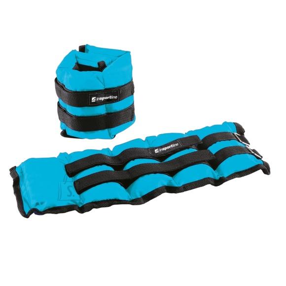 inSPORTline randme- ja pahkluuraskused 2x2 kg, sinine