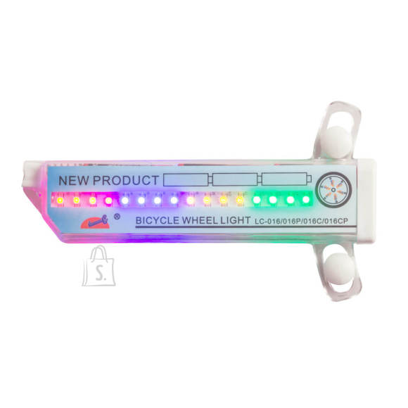 Worker Jalgratta LED kodaratuli Spyralus