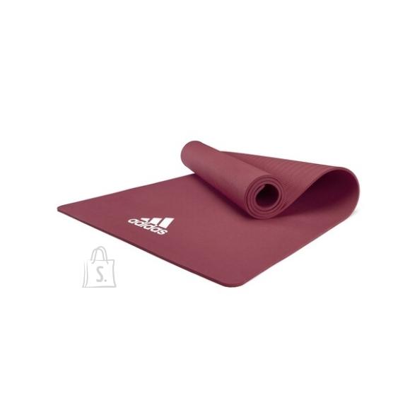 Adidas joogamatt 8 mm - Ruby Red