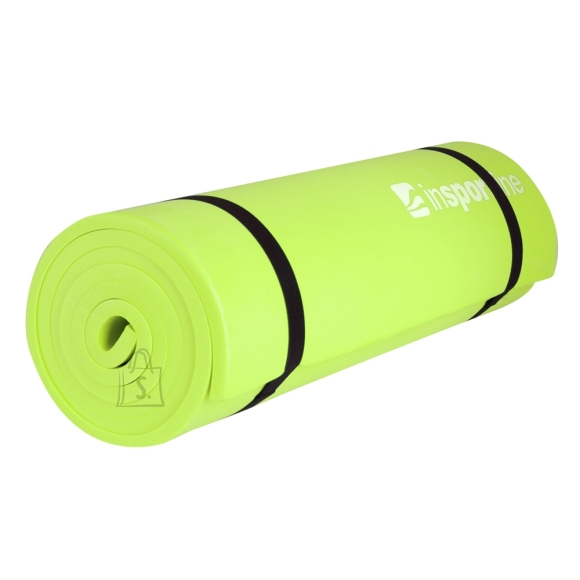 inSPORTline joogamatt EVA 180 x 50 x 1 cm roheline