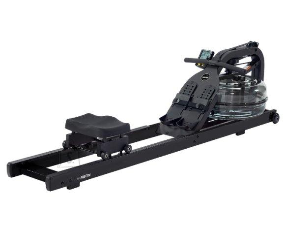 Rowing Machine FluidRower Neon Plus Black
