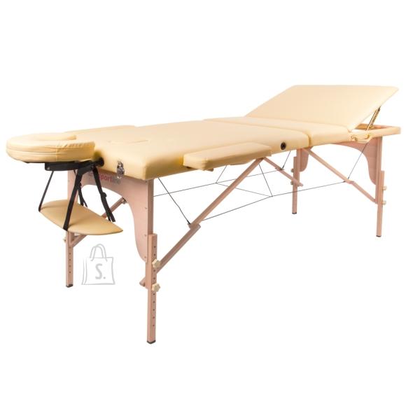 inSPORTline Massage Table inSPORTline Japane 3-Piece Wooden - Gold