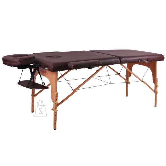 inSPORTline Massage Table inSPORTline Taisage 2-Piece Wooden - Brown