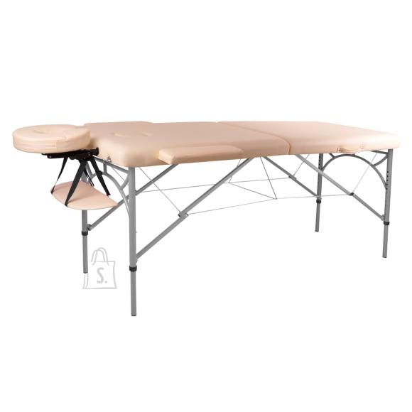 inSPORTline Massage Table inSPORTline Tamati 2-Piece Aluminium - Creamy White