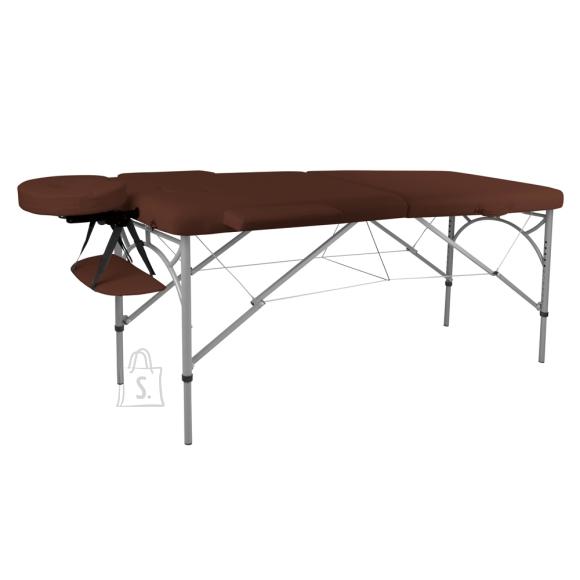 inSPORTline Massage Table inSPORTline Tamati 2-Piece Aluminium - Brown