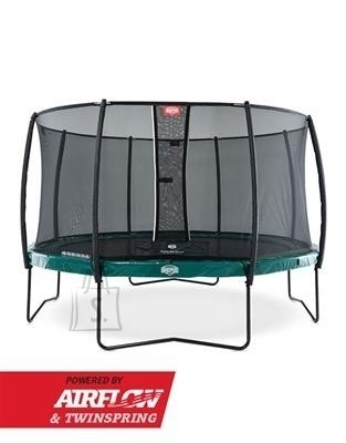 Berg Trampoline Set BERG Elite Green 330 + Safety Net Deluxe