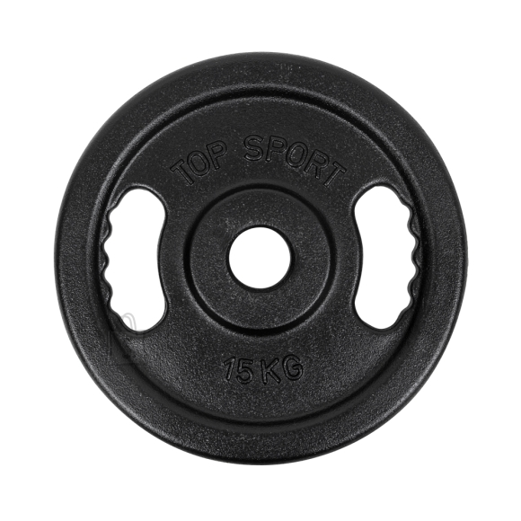 Cast Iron Weight Plate Top Sport Castyr OL 15 kg