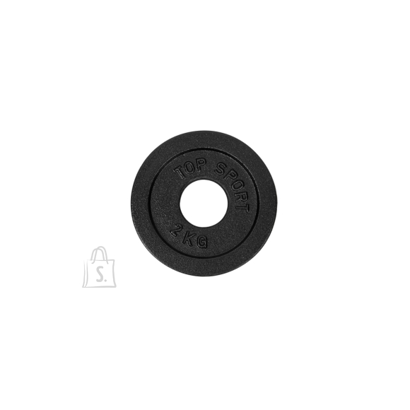 Cast Iron Weight Plate Top Sport Castyr OL 2 kg