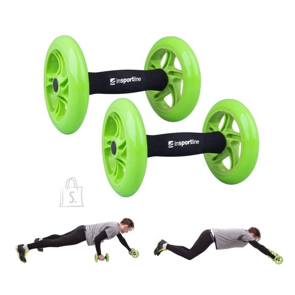 inSPORTline Exercise Wheel inSPORTline AB Roller Double