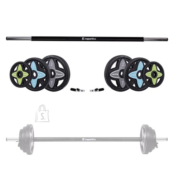 inSPORTline Barbell + Weight Plate Set inSPORTline Pumpstar 2 ??? 20kg