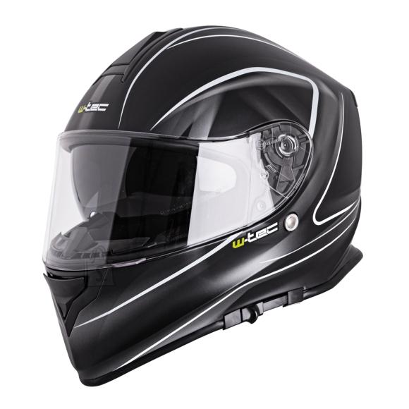 W-Tec Motorcycle Helmet W-TEC V127 - Black and Graphics XS (53-54)