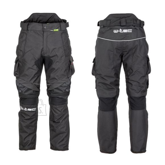 W-Tec Men???s Motorcycle Pants W-TEC Thollte - Black M