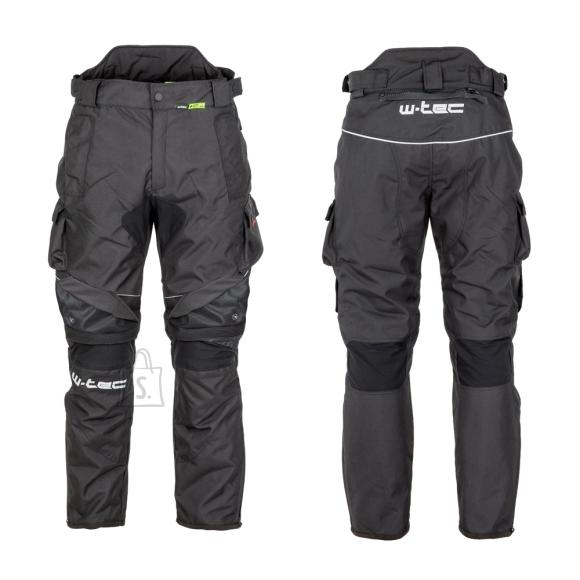 W-Tec Men???s Motorcycle Pants W-TEC Thollte - Black XXL